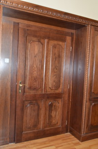 dvere masív dub